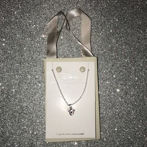New Disney parks Mickey Mouse silver necklace